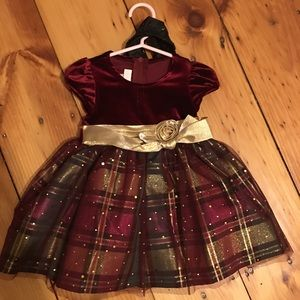 Toddler girls 18month Christmas dress